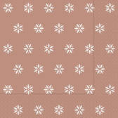 Snowflakes copper