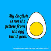 Yellow from the egg